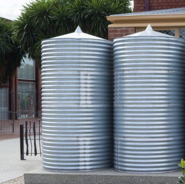Galvanised Rain Water Tank