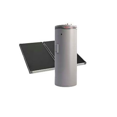 Ground Mounted Solar Hot Water - Rheem Premier Loline